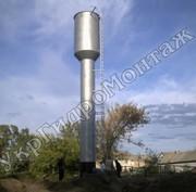 Водонапорные башни ВБР 15, 25, 50, 100, 160м3 Изготовление,  монтаж,  продаж