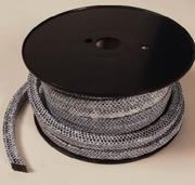 Квадратный плетёный шнур в дверки котла и печи.